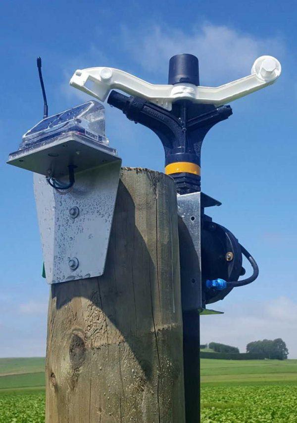 IPC Irrigation Point Controller installed